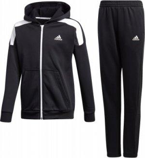 Костюм для мальчиков adidas B.A.R Tech, размер 140. Цвет: черный