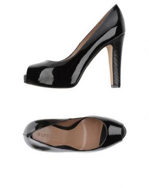 Туфли DIBRERA BY PAOLO ZANOLI. Цвет: черный
