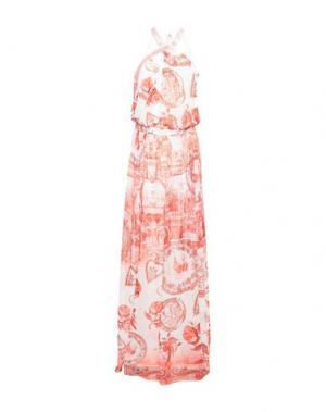 Длинное платье SOANI. Цвет: белый