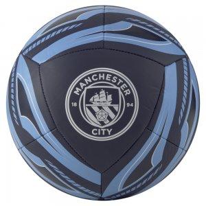 Футбольный мяч MCFC ICON Ball PUMA. Цвет: синий