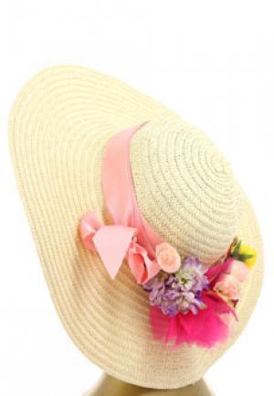 Шляпа BLUGIRL. Цвет: розовый