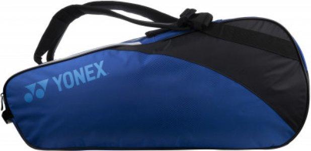 Чехол на 6 ракеток Yonex. Цвет: синий