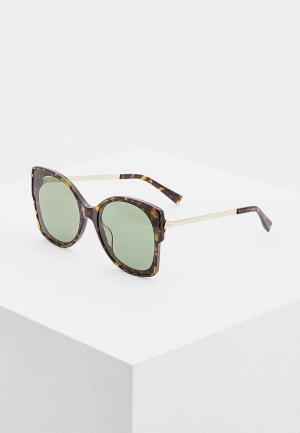 Очки солнцезащитные Max&Co MAX&CO.391/G/S 086. Цвет: коричневый