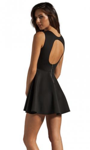 Платье avery Boulee. Цвет: черный
