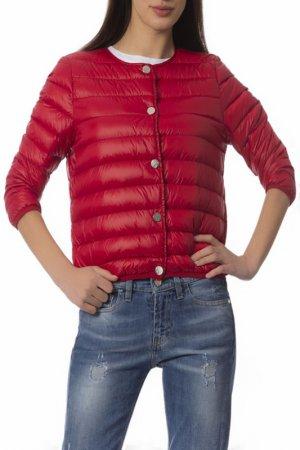 Куртка Frankie Morello. Цвет: красный