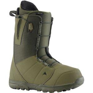 Ботинки для сноуборда Moto Burton. Цвет: светло-зеленый