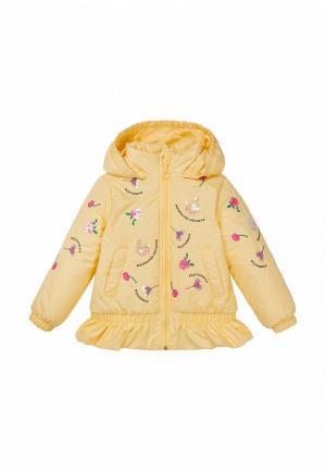 Куртка утепленная Bell Bimbo. Цвет: желтый