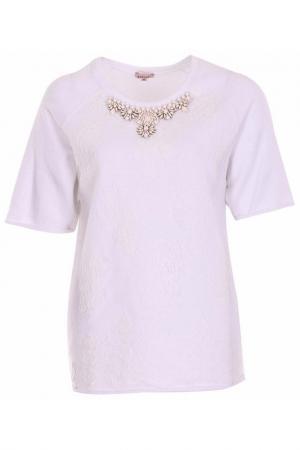 Пуловер P.A.R.O.S.H.. Цвет: белый