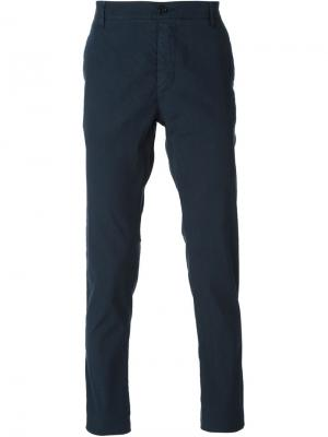 Классическим брюки чинос Ermanno Scervino. Цвет: синий