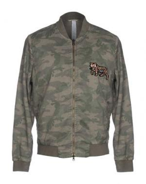 Куртка MASON'S. Цвет: зеленый-милитари