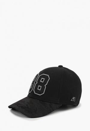 Бейсболка Atributika & Club™ №88. Цвет: черный