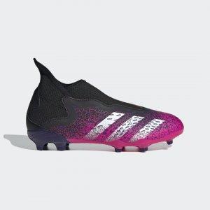 Футбольные бутсы Predator Freak.3 Laceless FG Performance adidas. Цвет: черный