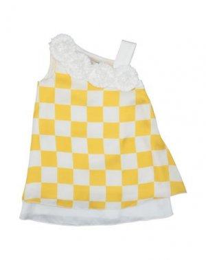 Платье LOREDANA. Цвет: желтый