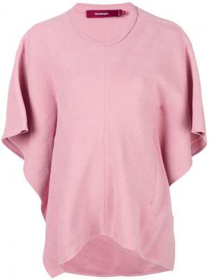 Топ Effie Sies Marjan. Цвет: розовый и фиолетовый