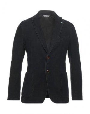 Пиджак EXIGO. Цвет: черный