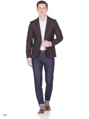 Пиджак Sisley. Цвет: коричневый