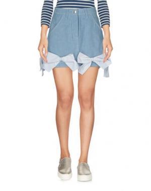 Джинсовая юбка ANNA K. Цвет: синий
