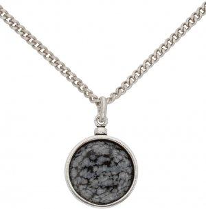 Silver & Grey Alto Necklace Isabel Marant. Цвет: 02fk faded black