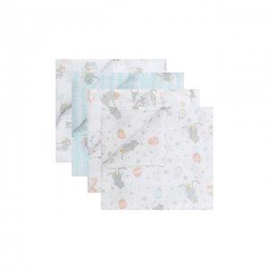 Комплект из 4-х пеленок Aden+Anais. Цвет: разноцветный