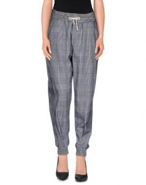 Повседневные брюки BAND OF OUTSIDERS. Цвет: грифельно-синий