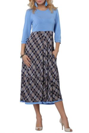 Платье Kata Binska. Цвет: голубой