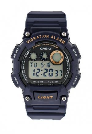 Часы Casio Collection W-735H-2A. Цвет: синий