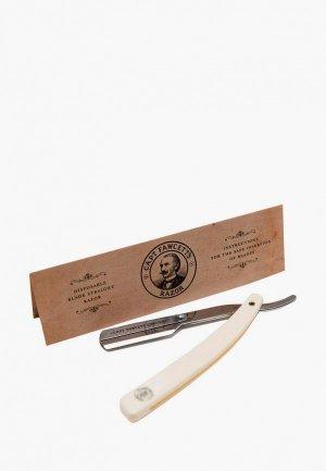 Станок для бритья Captain Fawcett Опасная бритва со сменным лезвием. Цвет: бежевый
