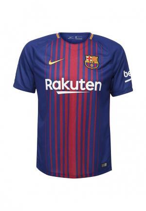 Футболка спортивная Nike FCB M NK BRT STAD JSY SS HM. Цвет: синий