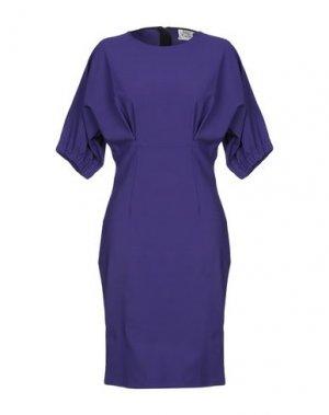 Платье до колена ATTIC AND BARN. Цвет: фиолетовый