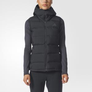 Утепленный жилет HELIONIC Performance adidas. Цвет: черный