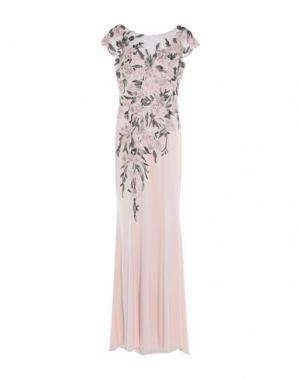 Длинное платье MIKAEL. Цвет: светло-розовый