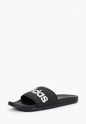 Сланцы adidas ADILETTE COMFORT. Цвет: черный