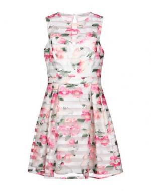 Короткое платье LIPSY. Цвет: светло-розовый