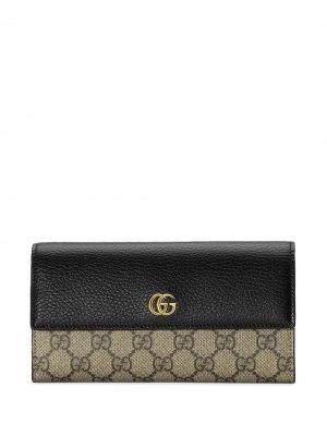 Кошелек GG Marmont Gucci. Цвет: нейтральные цвета