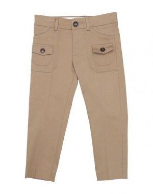 Повседневные брюки GUCCI. Цвет: хаки