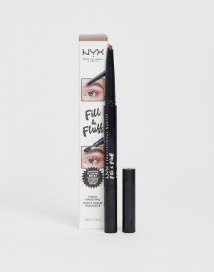 Карандаш для бровей -Коричневый NYX Professional Makeup