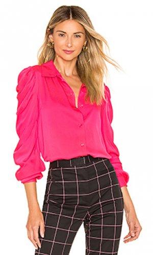 Блузка charlie MILLY. Цвет: фуксия