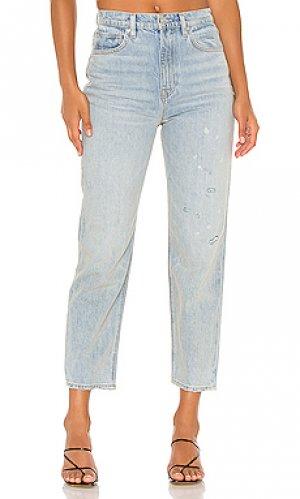 Зауженные джинсы elly Hudson Jeans. Цвет: none