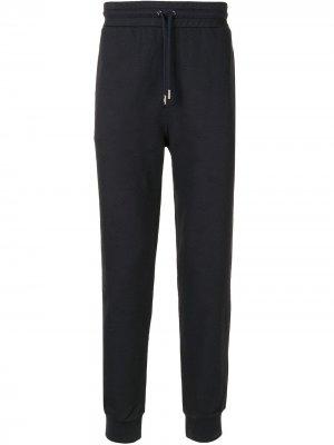 Спортивные брюки с кулиской Bally. Цвет: синий
