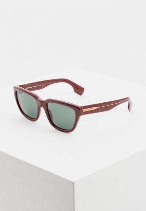 Очки солнцезащитные Burberry BE4277 37603H. Цвет: бордовый
