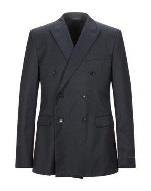 Пиджак CALVIN KLEIN COLLECTION. Цвет: темно-синий
