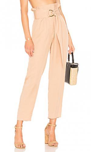 Узкие брюки чинос greyson Tularosa. Цвет: цвет загара