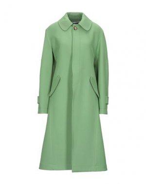 Пальто LANVIN. Цвет: зеленый