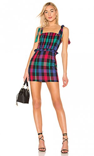 Платье jackie Tularosa. Цвет: синий