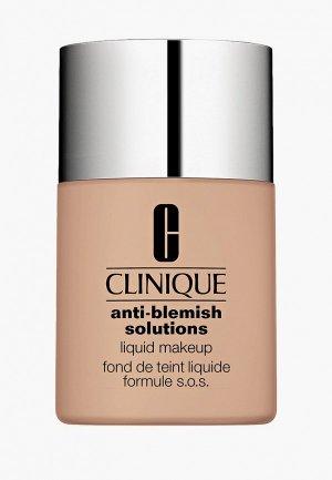 Тональное средство Clinique для проблемной кожи Anti-Blemish Solution Liquid Makeup, Vanilla 30 ml. Цвет: бежевый