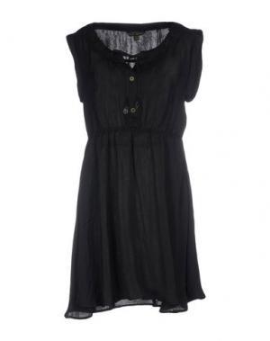 Короткое платье FRESH MADE. Цвет: черный