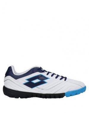 Низкие кеды и кроссовки LOTTO. Цвет: белый