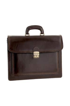 Briefcase ORE10. Цвет: dark brown