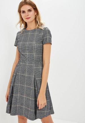 Платье Mango - PINTO. Цвет: серый