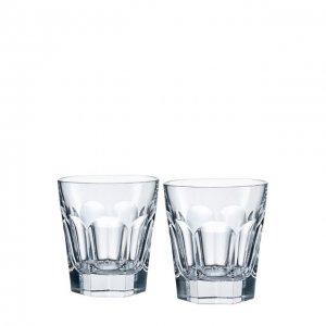 Набор из двух стаканов для виски Harcourt Baccarat. Цвет: прозрачный
